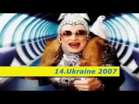 Eurovision [2005-2010] - My OLD Top 30