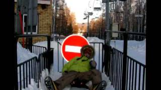 SnowBoarding in Russia