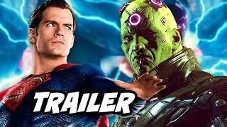 Superman Krypton Prequel Trailer and Brainiac Scene Reaction Supergirl The Flash