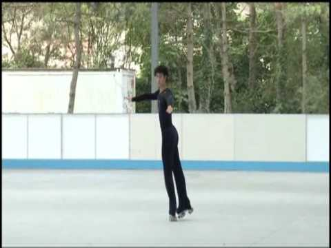 Salto Triple Salchow.Video Didactico.Roberto Riva.HQ