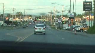 Drive through Plattsburgh