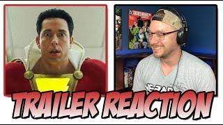 SHAZAM! (2019) - Teaser Trailer Reaction (San Diego Comic Con 2018  SDCC)