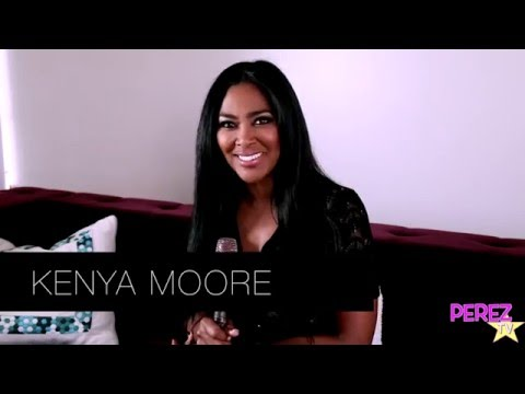 Real Housewives of Atlanta Star KENYA MOORE Chats About Her New House And More!!!