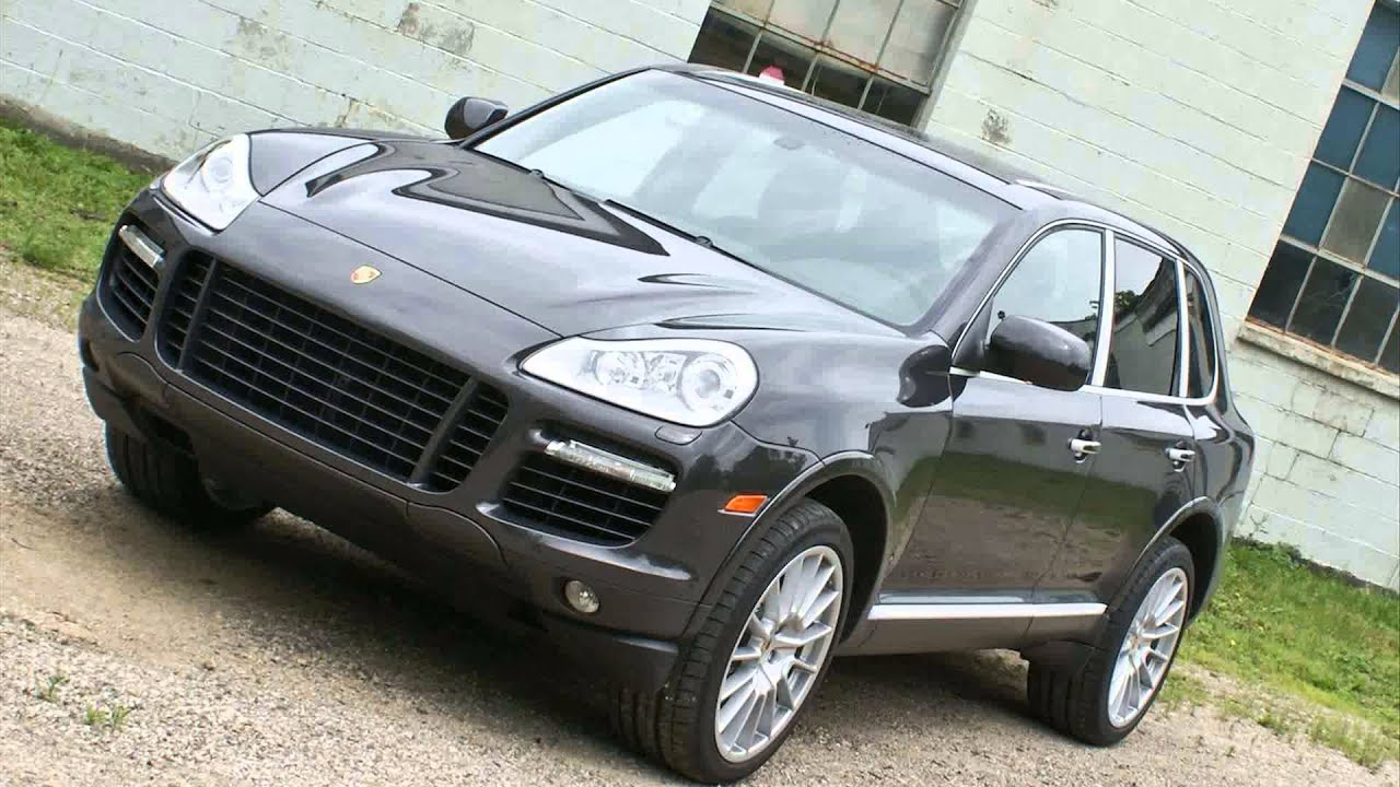 2009 porsche cayenne turbo s youtube
