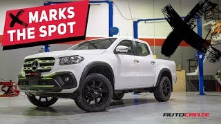 ✖️ MARKS THE SPOT // Modified Mercedes X Class // Wheels, Tyres & Accessories