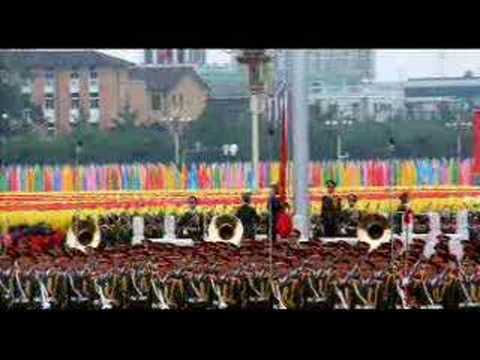 the national anthem of the People's Republic of China