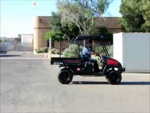 Sold 2007 club car xrt 1550 4x4 utv utility vehicle cart dump bidadoo