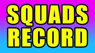 PC World Record TIED! 🔥 53 Kill Squad Win w/ Nick Eh 30, FaZe Cloak & FaZe Tfue