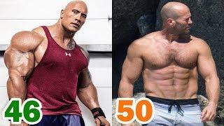 The Rock vs Jason Statham Transformation ★ 2018