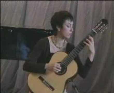 Asya Selyutina plays Scherzo-Vals by Miguel Llobet