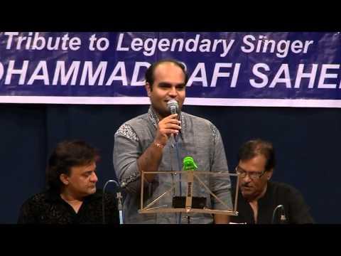 Chirag Panchal singing Chal ud ja re panchi