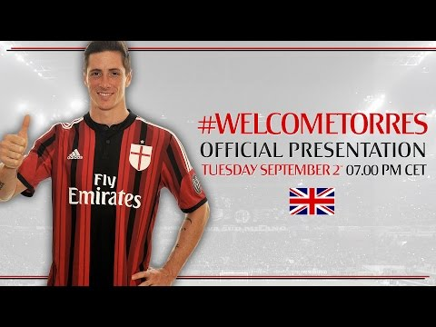Fernando Torres - Official Presentation | AC Milan Official