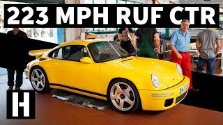 Smashing Rev Limiter in a 223 MPH RUF CTR!