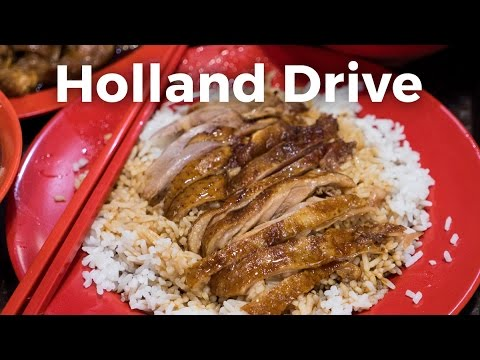 Singapore Hawker Food at Holland Drive Food Centre