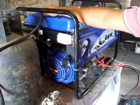 Generador convertido a gas en argentina mucho mas - Generador electrico a gas butano ...