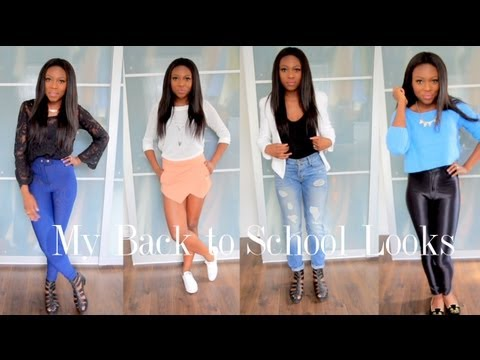 Back To School college Lookbook! video
