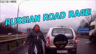 The ULTIMATE Russian Road Rage COMPILATION! - [2015]