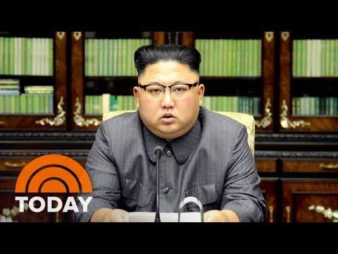 North Korea's Kim Jong Un Calls President Donald Trump 'Mentally Deranged US Dotard' | TODAY