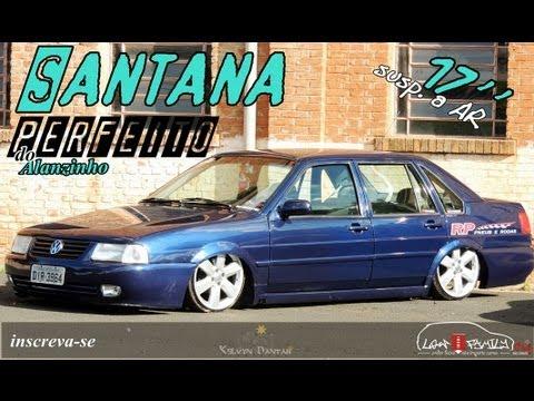VW Santana do Alanzinho 272ºclub // 17'' + susp Ar = PERFEITO // LowFamilyclub || Ful HD