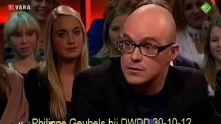 Philippe Geubels tapt moppen bij DWDD