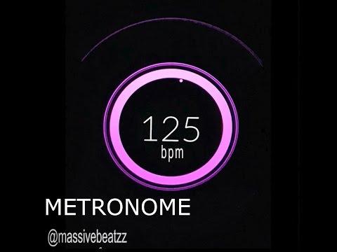 125 BPM (Beats Per Minute) Metronome Click Track [HiQ]