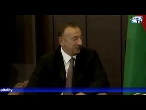 President Ilham Aliyev met with Russian President Vladimir Putin in Sochi