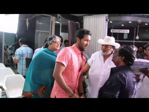 Erra bus Making Video -  Dasari Narayana Rao,Manchu Vishnu,Catherine Tresa