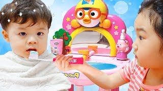 Boram Play with Pororo Toy