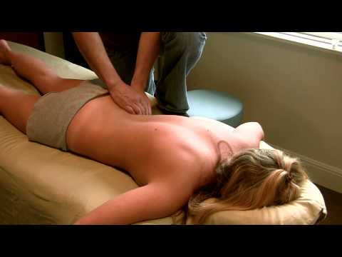 Full HD Back Massage How To Techniques; Gregory Gorey LMT, ASMR Massage