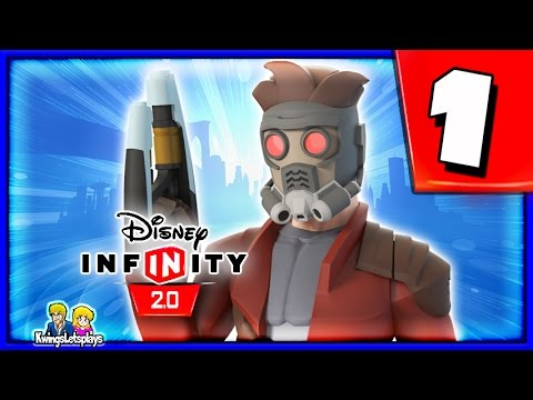 Disney Infinity 2.0 Guardians of the Galaxy Walkthrough Part 1 (STAR LORD) GUARDIANS Play Set