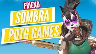OVERWATCH SOMBRA POTG GAMES | Guide, Tips & Gameplay (Sombra Main)