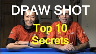 Top 10 Secrets of a Good Draw/Backspin/Screw-Back Shot