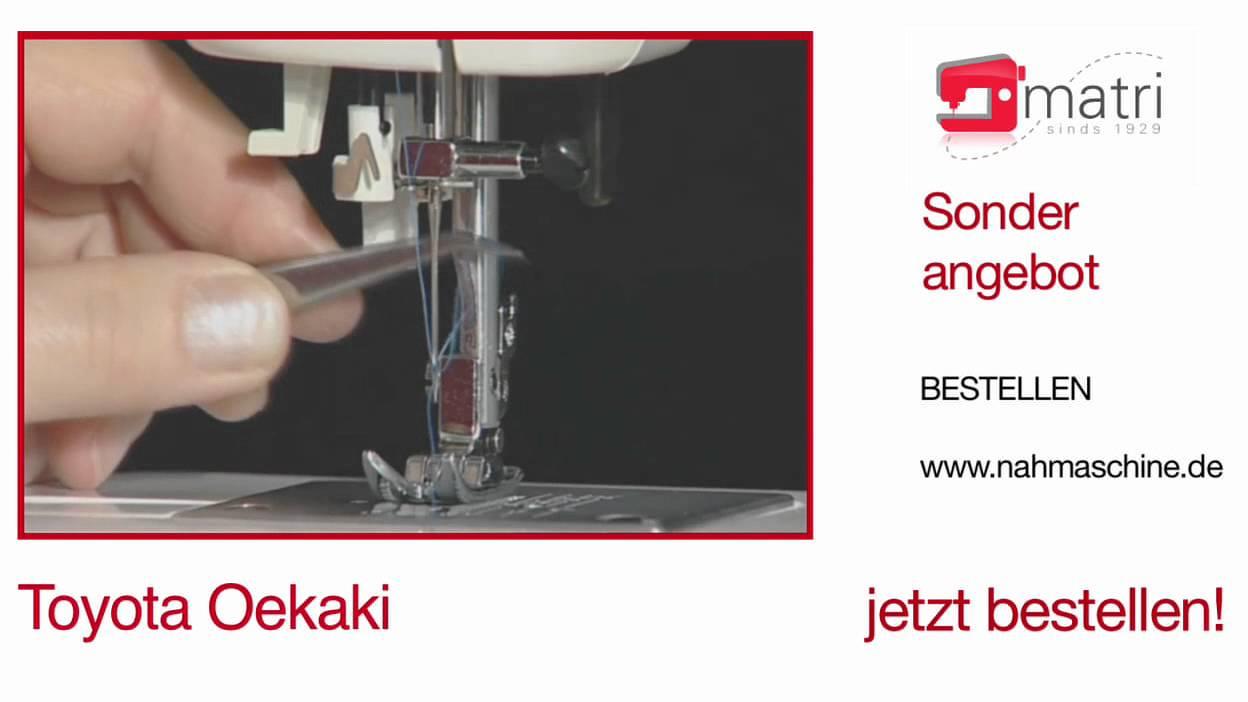 Toyota oekaki youtube for Machine a coudre riccar