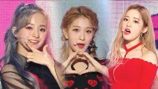 Hot Fromis 9 Love Bomb 프로미스나인 Love Bomb Show Music Core 20181020