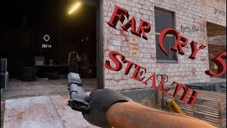 Far Cry 5 - Badass Stealth Kills & Outpost Liberations Episode 1.