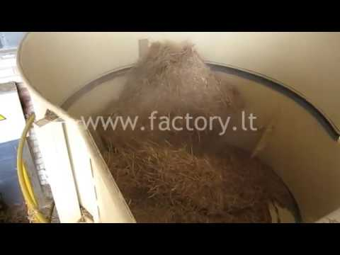Straw pellet production equipment
