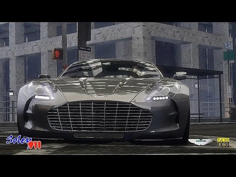 GTA 4 Aston Martin One-77  !!  ENB series Extreme Graphics  [ RealizmIV + VisualIV ]
