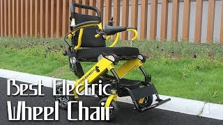 10 Best Electric Wheelchairs 2019