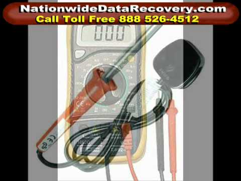 Data Recovery Electrical Damage part 2
