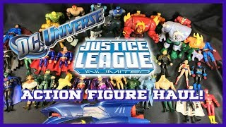 HUGE DC Super Heroes Action Figure Haul Justice Le