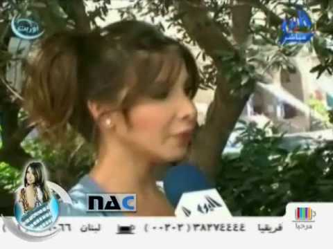 Nancy Ajram - First Interview After Wedding Part 2 video