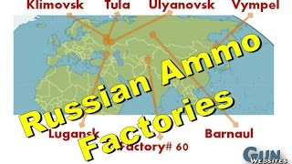 Russian AK Ammo Factory Maps