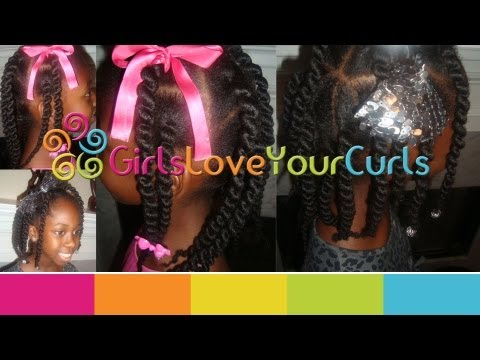  39  African Threaded Corkscrew Box Braids