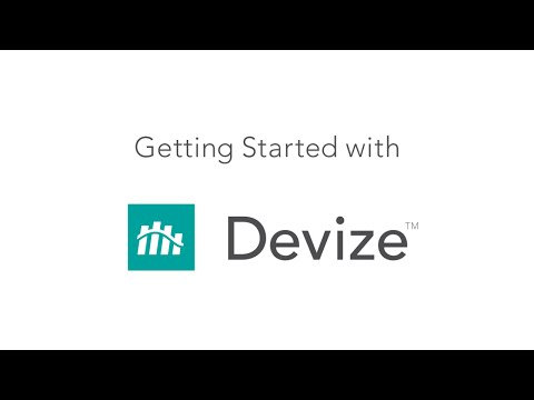 Getting Started with Devize