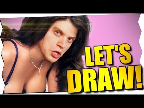 iBLALI's & MEGAN FOX' GEHEIMNIS! - Let's Draw