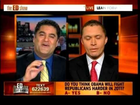 Cenk Uygur (host of The Young Turks) filling in for Ed Schultz on MSNBC speaks with former Democratic Congressman Harold Ford Jr. The two strongly disagree on the Obama tax cut deal with ...