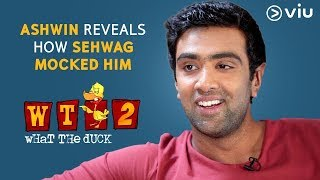 Ashwin Reveals How Sehwag Mocked Him | Vikram Sathaye | What The Duck Season 2 | Viu India