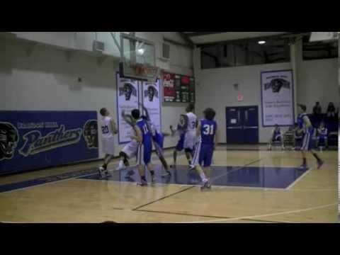 Richard Pennington Class of 2015 Brandon Hall vs Academe of the Oaks - 01/15/2014