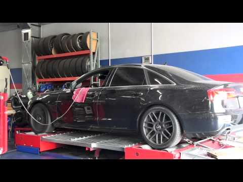 Dyno-comp Tuned 2012 Audi A6 2.0t Fsi Stage-1 Ecu video