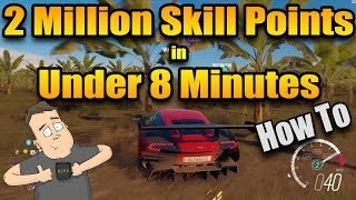 How to get skill points fast in Forza Horizon 3